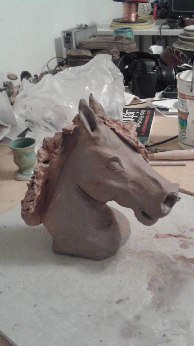 Horse and livestock clay sculpture-10475437_860615863958802_1945634206815394112_o.jpg