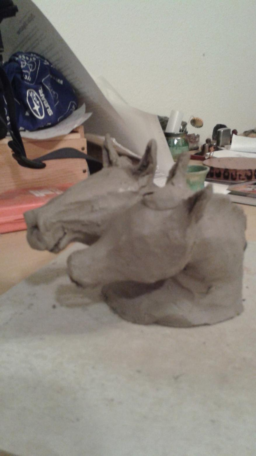 Horse and livestock clay sculpture-10869693_860122340674821_7149252130136946524_o.jpg