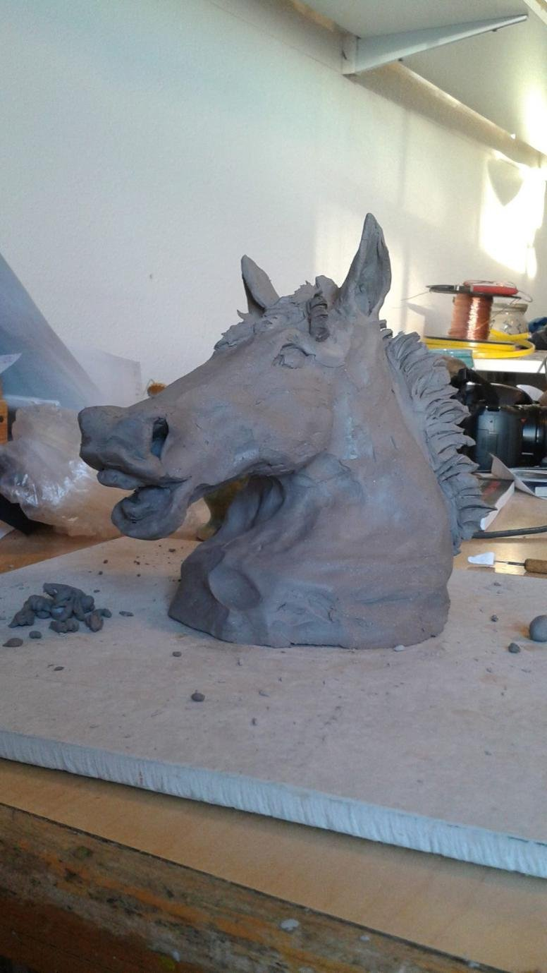 Horse and livestock clay sculpture-10872864_860073200679735_124210330271370774_o.jpg