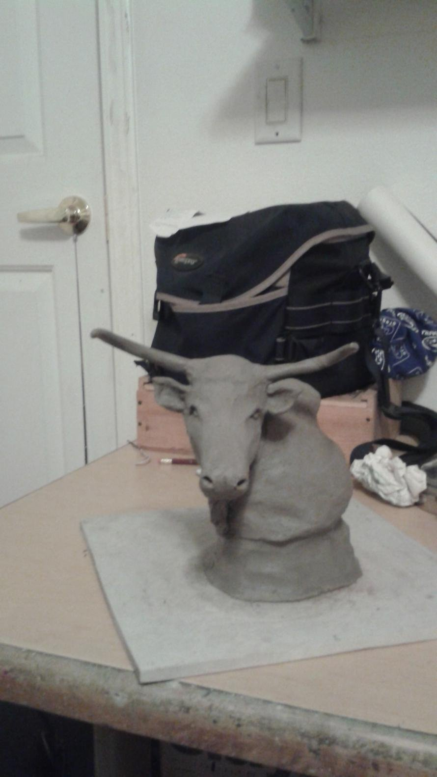 Horse and livestock clay sculpture-20150210_193627.jpg