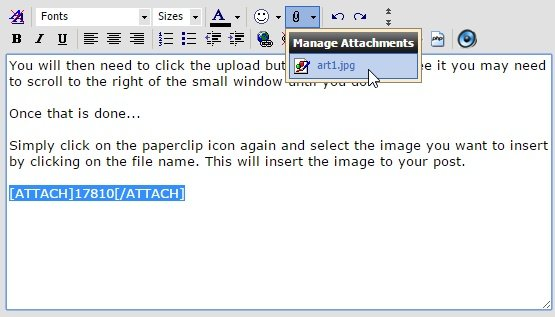 How To Insert Images Into Your Posts-artist4.jpg