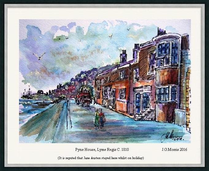 Pen and wash.-pyne-framed.jpg