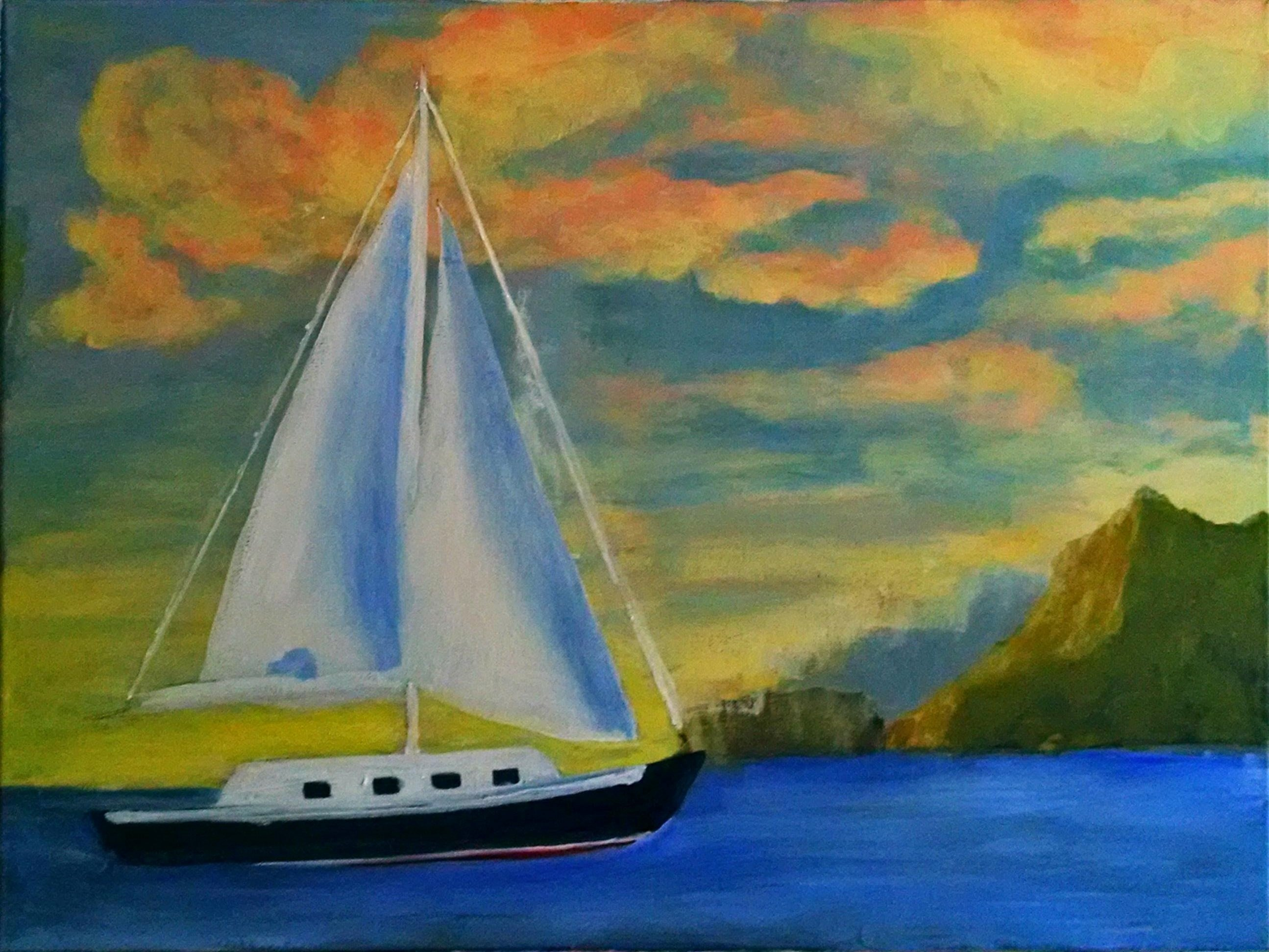 2nd Art Show Exercise - Sailboats/Seascape-sailboat2.jpg