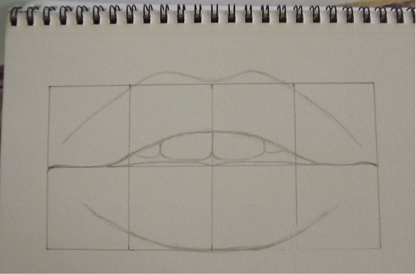 Lips drawing done by watching a tutorial-step-1.jpg