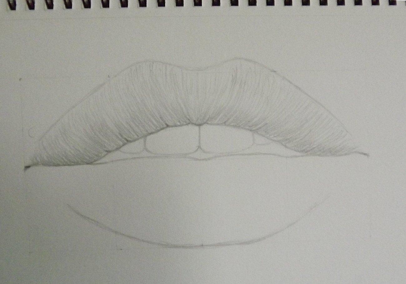 Lips drawing done by watching a tutorial-step-4.jpg