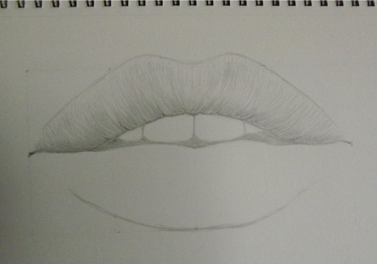 Lips drawing done by watching a tutorial-step-5.jpg